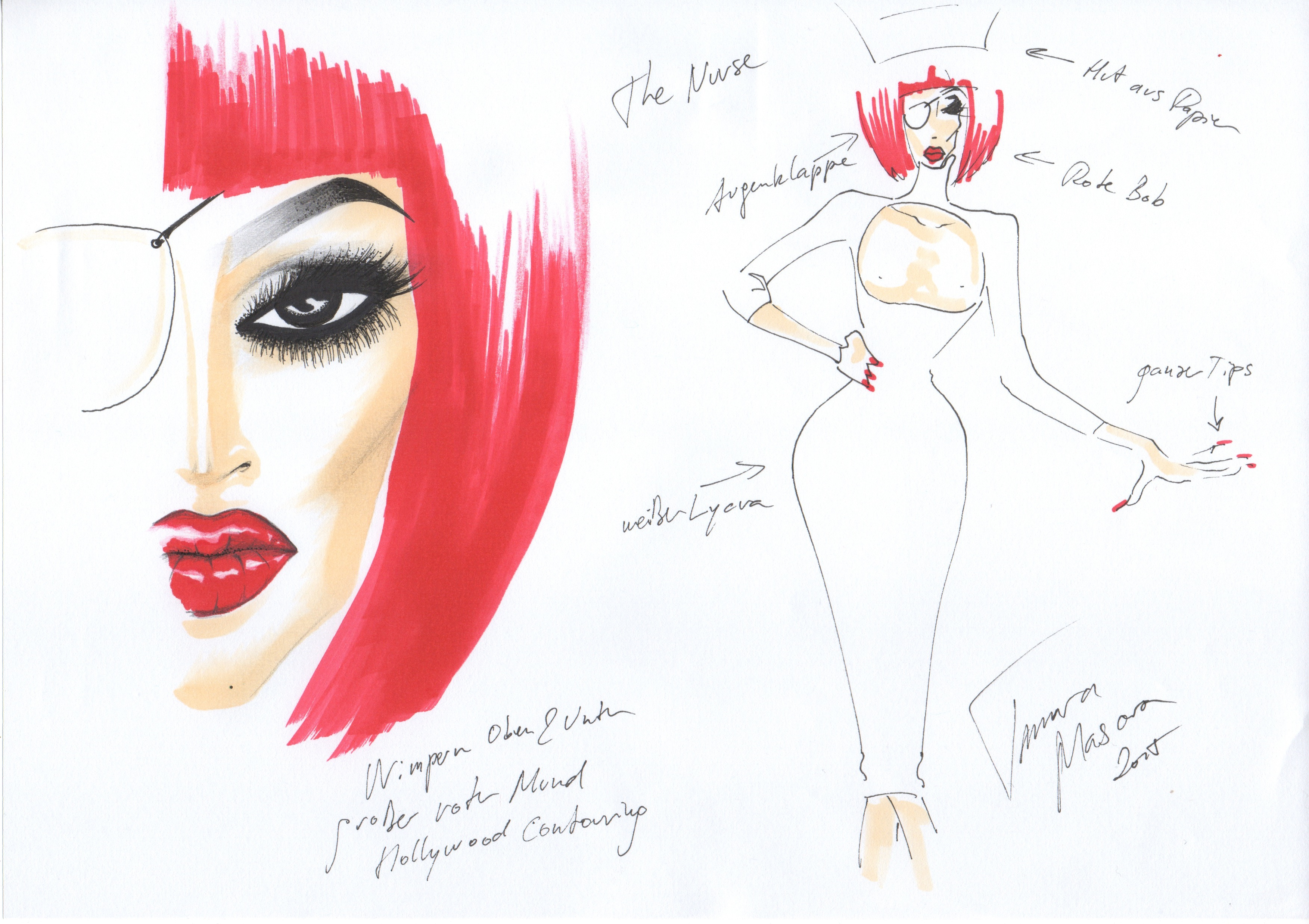 Fashion Design Tamara Mascara